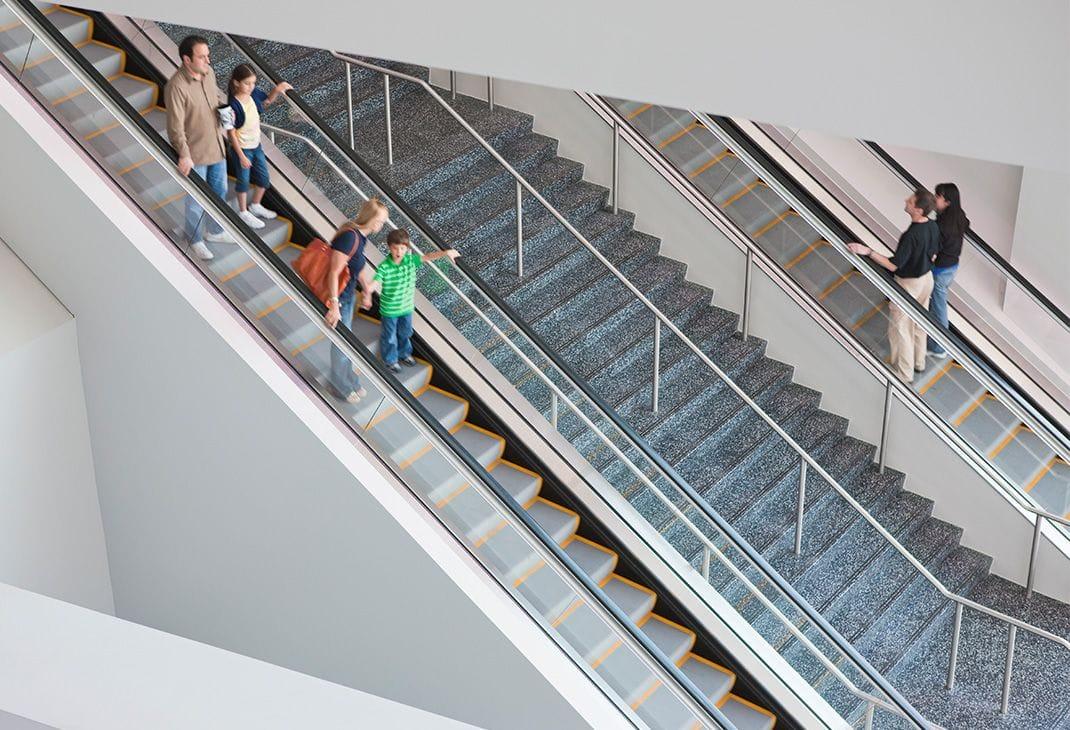 people on escalator. travelmaster110 people on escalator