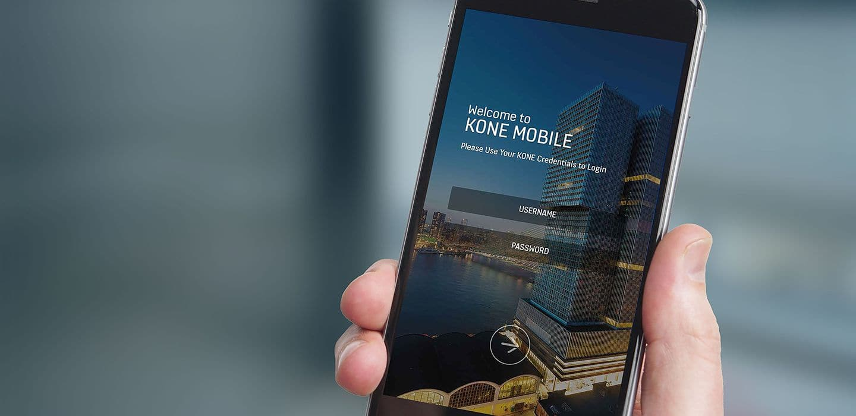 kone mobile app. Black Bedroom Furniture Sets. Home Design Ideas
